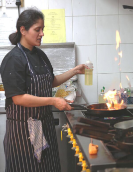 Shilpa at work